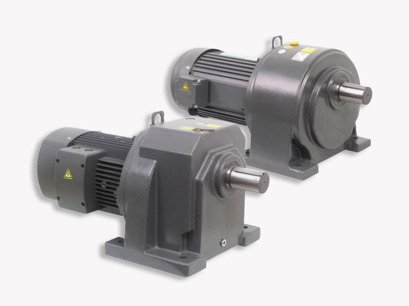 Gear reduction motor for edge sealing machine